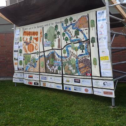 fundraising mural